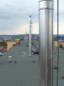komínové nástavce v Havlíčkově Brodě